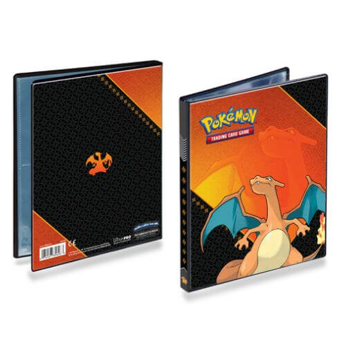 POKEMON 4 POCKET CHARIZARD PORTFOLIO