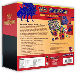 POKEMON SWORD & SHIELD ELITE TRAINER BOX ZACIAN