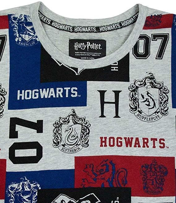 OFFICIAL HARRY POTTER HOGWARTS 07 UNISEX T-SHIRT