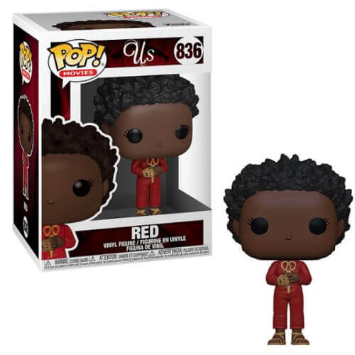 US RED WITH SCISSORS FUNKO POP 836