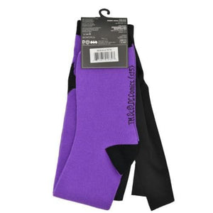 BATMAN PURPLE CAPE SOCKS (WOMEN'S, MEN'S & KIDS)