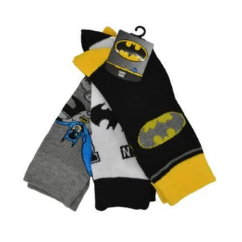 BATMAN SOCKS - 3 PAIR