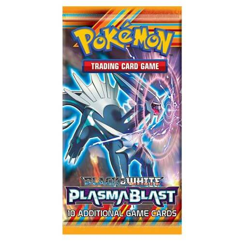 BLACK & WHITE PLASMA BLAST BOOSTER PACK