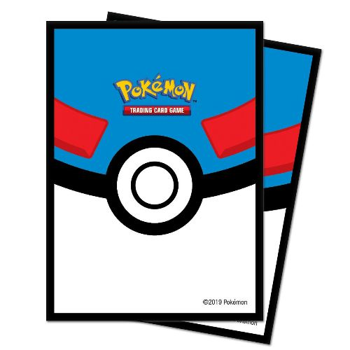 BLUE POKEBALL ULTRA-PRO POKÉMON DECK PROTECTOR SLEEVES (65)