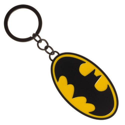 BATMAN HEAVY METAL KEYCHAIN