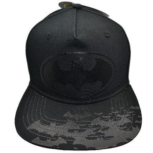 BATMAN BLACK YOUTH SNAPBACK HAT