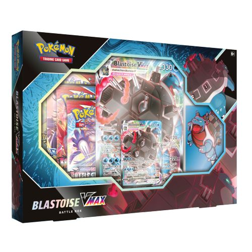 Pokemon Blastoise V Max Battle Box