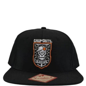 CALL OF DUTY SKULL LOGO SNAPBACK HAT