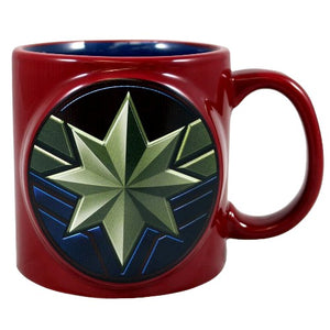 CAPTAIN MARVEL COFEE MUG 20oz