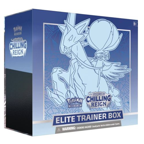 POKEMON SWORD AND SHIELD CHILLING REIGN ICE RIDER CALYREX ELITE TRAINER BOX