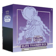 POKEMON SWORD AND SHIELD CHILLING REIGN SHADOW RIDER CALYREX ELITE TRAINER BOX