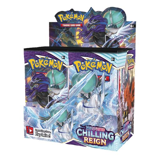 POKEMON SWORD AND SHIELD CHILLING REIGN BOOSTER BOX (JUNE 18)