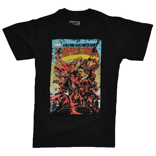 OFFICIAL DEADPOOL T-SHIRT - COMIC BOOK