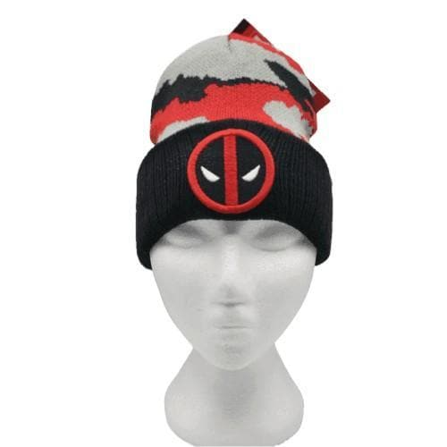 DEADPOOL CAMO BEANIE - Marvel Beanie - Marvel Merch