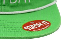 SMOKE WEED EVERYDAY SNAPBACK HAT
