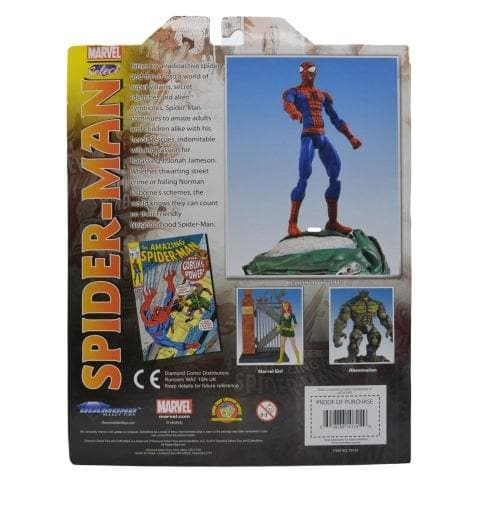 SPIDERMAN MARVEL ACTION FIGURE 7-INCH