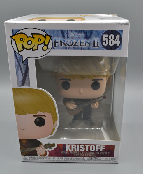 KRISTOFF - DISNEY FROZEN ll FUNKO POP 584 (DAMAGE)