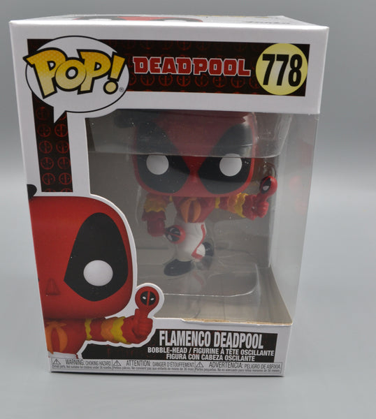 FLAMENCO DEADPOOL FUNKO POP 778 (DAMAGE)