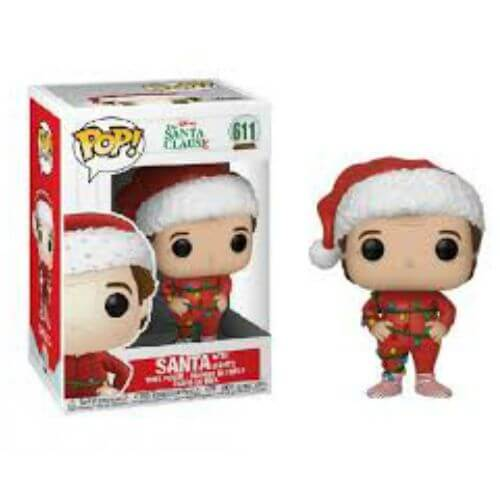 Disney Santa With Lights Funko Pop 611