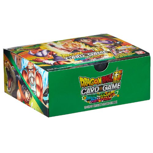 Dragon Ball Miraculous Revival Cards Box
