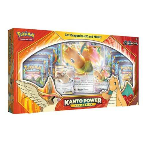 Pokemon Dragonite EX Kanto Power Collection Box