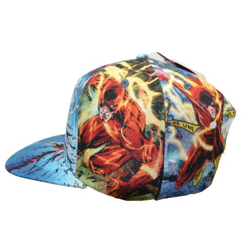 FLASH SUBLIMATED SNAPBACK HAT