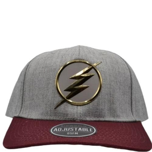 FLASH CHROME WELD SNAPBACK CAP - DC Comics Apparel