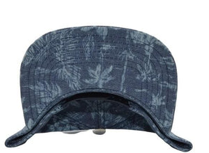 FLORAL DENIM MEN'S SNAPBACK CAP