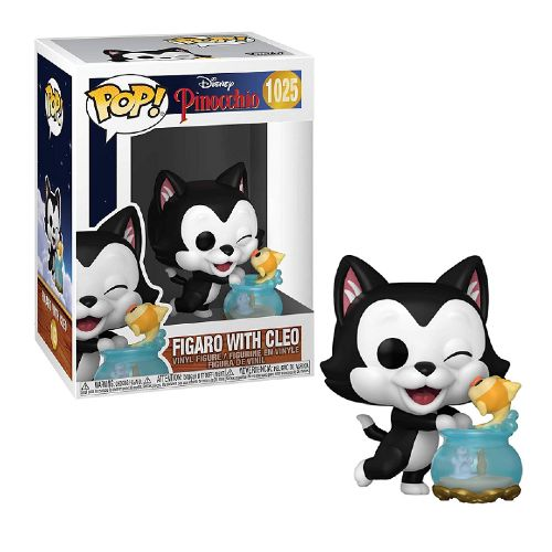 Figaro With Cleo - Disney Funko Pop 1025