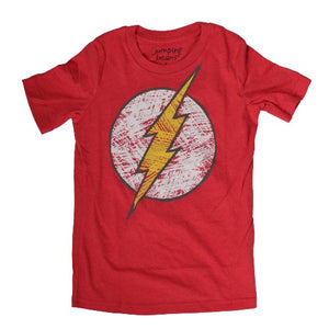 OFFICIAL FLASH SHORT SLEEVES SHIRT (BOYS 4-7)