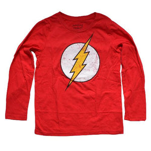 OFFICIAL FLASH LONG SLEEVES SHIRT (BOYS 4-7)