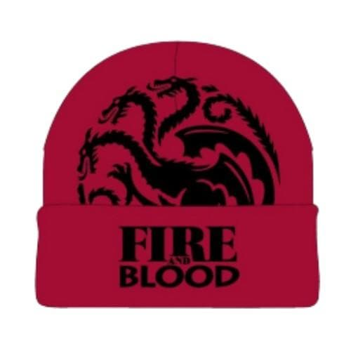 GAME OF THRONES RED BEANIE