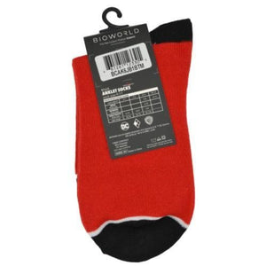 HARLEY QUINN ANKLET SOCKS (MEN'S, WOMEN'S & KIDS)