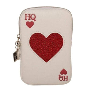 HARLEY QUINN PLAYING CARDS COIN PURSE