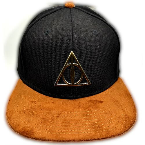 HARRY POTTER DEATHLY HALLOWS SNAPBACK HAT
