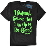 OFFICIAL HARRY POTTER GLOW IN THE DARK T-SHIRT
