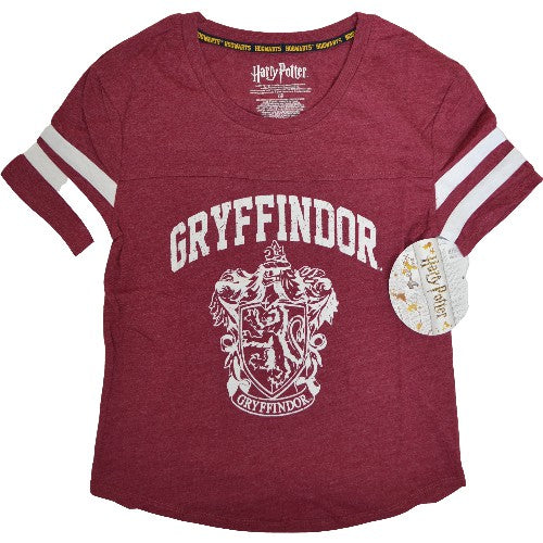 HARRY POTTER GRYFFINDOR WOMEN'S RED T-SHIRT