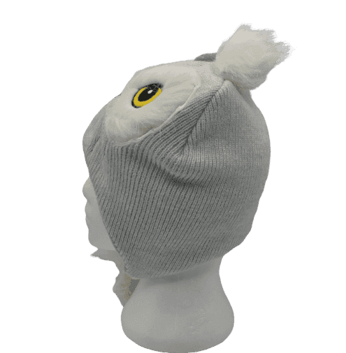 HARRY POTTER HEDWIG WHITE BEANIE (FAUX FUR)