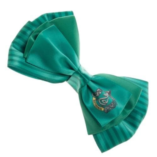 HARRY POTTER SLYTHERIN HAIR BOW