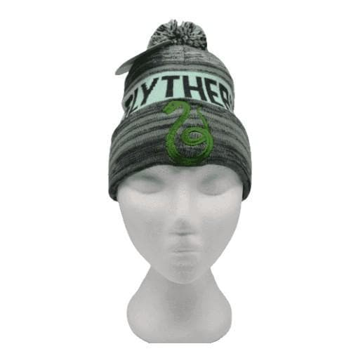 HARRY POTTER SLYTHERIN POM-POM BEANIE