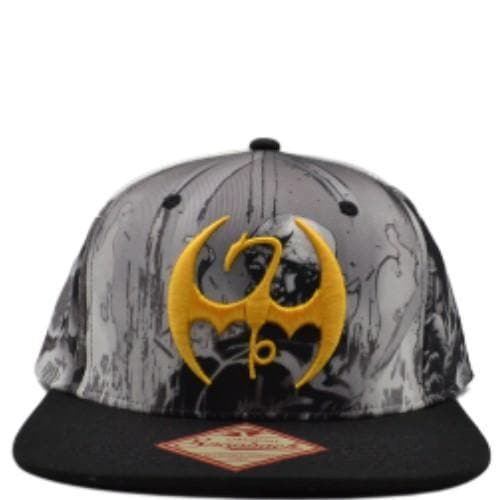 IRON FIST SUBLIMATED SNAPBACK HAT - Marvel Snapback