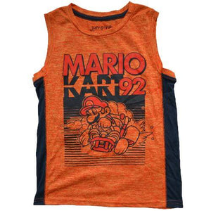 OFFICIAL SUPER MARIO TANK TOP (BOYS 4-12)