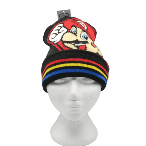 MARIO BROS BEANIE (NINTENDO) - GEEK FASHION