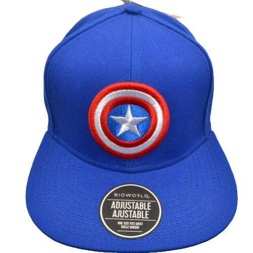 MARVEL CAPTAIN AMERICA SNAPBACK HAT