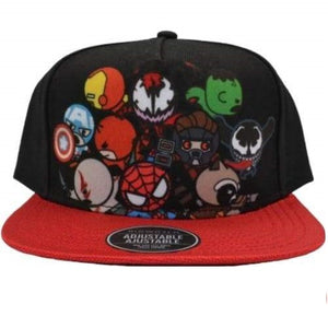 MARVEL KAWAII MULTI COLORED SNAPBACK HAT