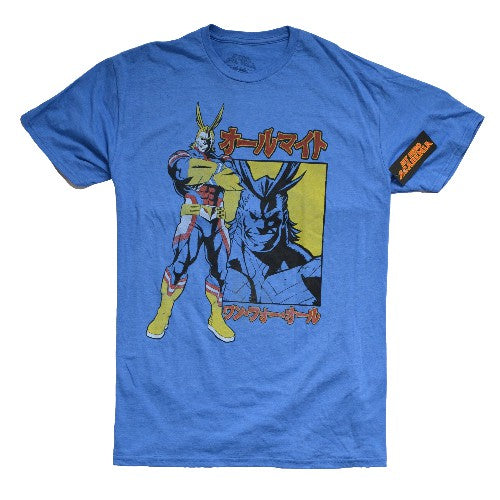 OFFICIAL ALL MIGHT MY HERO ACADEMIA T-SHIRT