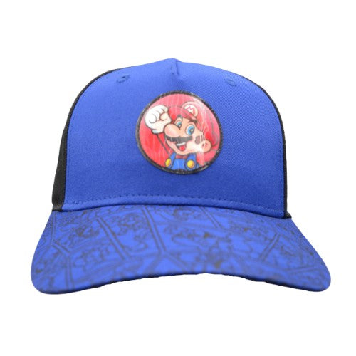 MARIO BROS YOUTH SNAPBACK CAP