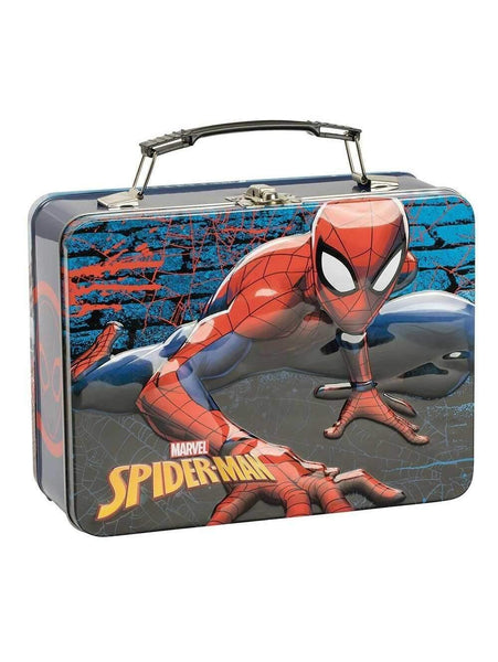 Marvel SPIDERMAN Metal Lunch Box - Marvel Merchandise