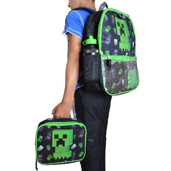 Minecraft Backpack & Lunchbag