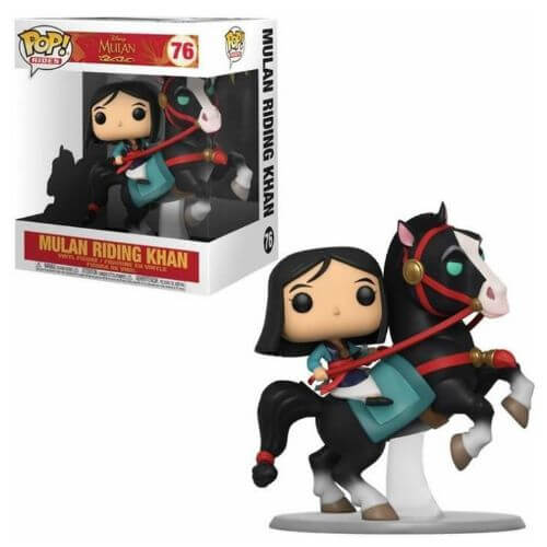 Mulan Riding Khan Funko Pop 76
